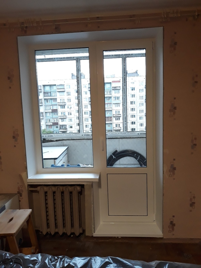 замена балконного блока в Москве под ключ